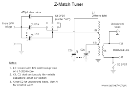 z matcher schematic the wiring diagram a homebrew z match tuner schematic