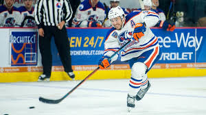 no 45 taylor beck of the bakersfield condors the oilers ahl affiliate edmonton oilers pins