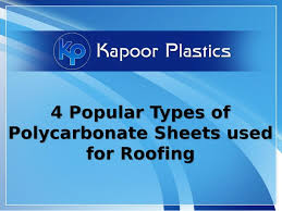 lexan sheet 1 4 4 popular types of polycarbonate sheets used for roofing 1 638 jpg cb 1495787906