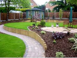 Small Picture Garden Landscaping HereS A Great Landscape Option For A Heavily