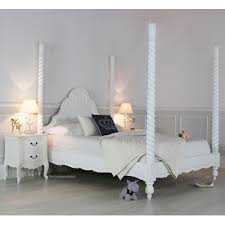 Poster Bedroom Furniture White 4 Post Bed King Poster Bed Poster Beds Spring Sale And