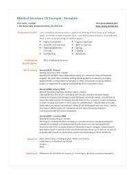 medical secretary resume examples secretary resume
