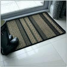 rubber backed rugs bathroom black area 3x5