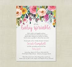 Sprinkle Baby Shower Invitations  MarialonghiComBaby Shower Sprinkle Ideas