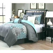 navy blue and gray comforter sets grey bedding aqua quilt set manor amber 9 piece free navy blue comforter