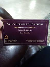Ashley Furniture HomeStore 615 Baltimore Pike Bel Air MD