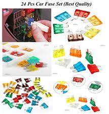 car fuses fuse boxes standard 24 car fuse set auto blade fuses set 5 7 5 10 15 20 25 30