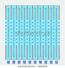 olympic swimming pool lanes.  Olympic Olympic Swimming Pool Deep Bath Lanes Top View Flat Pictogram With Clean  Transparent Blue Water Vector For Swimming Pool Lanes