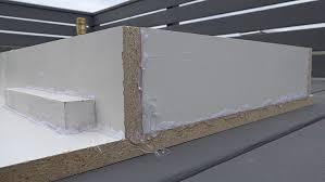 Hot Glue Around Concrete Countertop