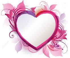 """Résultat de recherche d'images pour """"coeur blanc sur fond rose"""""""