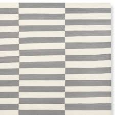 broken stripe flatweave rug swatch 18x18