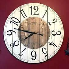 distressed wooden wall clocks 3 gallery next kitchen wall clocks large distressed wood wall clock in blue green