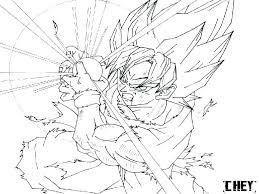 Dragon Ball Super Saiyan Coloring Pages Raovat24hinfo