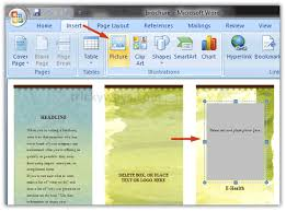How To Make Your Own Brochure On Microsoft Word Making Brochure In Word Magdalene Project Org