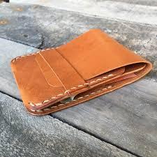 woronora kangaroo leather minimalist wallet