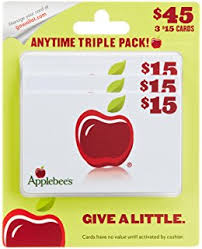 applebee s gift cards multipack