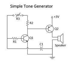 simple electric shock gun circuit diagram check more at tech simple tone generator circuit diagram