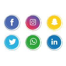 Social Media Icons Collection, Social Media Clipart, Social Icons, Media Icons PNG and Vector with Transparent Background for Free Download | Social media icons, Instagram logo, Social media logos