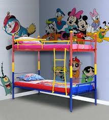 Cartoon Bunk Beds Kids Bunk Bed In By Cartoon Character Bunk Beds