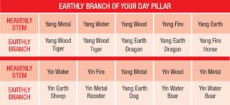 Bazi Profile Strength Chart The 10 Intelligent Day Pillars Wofs Com