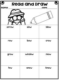 Vowel Team Worksheets | Homeschooldressage.com