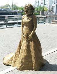 big dress all gold