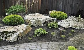 landscaping rocks design rock landscape