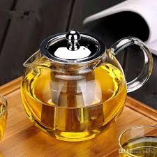 2019 new heat resistant glass tea pot flower tea set puer kettle coffee teapot with infuser office home teapot from ok767 17 36 dhgate com