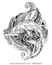 hammerhead shark tattoo drawing.  Shark Hammerhead Shark Tattoo TemplateVector Eps 10 Format Throughout Tattoo Drawing R