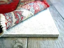 keep rug from sliding how