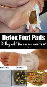 detox foot pads do they work how can you make them