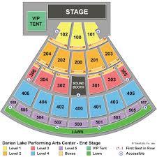 Darien Lake Performing Arts Center Seating Chart 80 All Inclusive Darien Lake Performing Arts Seating Chart