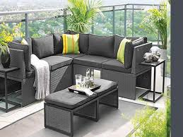 outdoor furniture small balcony. patio grey rectangle modern rattan furniture for apartment balcony stained ideas small outdoor u