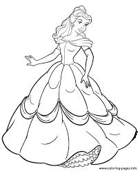 Print Princess Belle Coloring Pages Coloring Pages To Print For