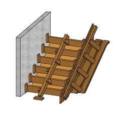 Zusätzlich kann die berechnung der treppe aus beton auf dem rechner ausgeführt werden. Treppe Fur Den Garten Selbst Einschalen Und Betonieren Bauredakteur De