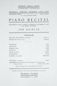 sample concert program template recital program template word