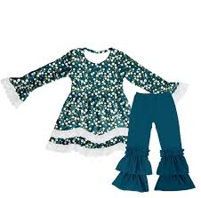 Lovely Baby Girl Clothes Wholesale Persnickety Boutique Clothing Camouflage Ruffle Pants And Shirt Outfits Buy Boutique Clothing Camouflage