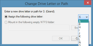 Change Drive Letter in Windows 8 1 Step4