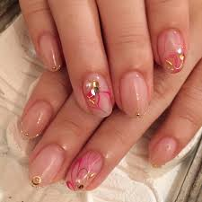 秋色 ピンクグレー 大阪のネイルならアートネイルが評判のサロン