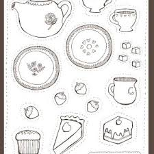 Small Picture Tea Party Coloring Pages Printables gallery