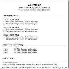 Format In Making Resume Template Make A Resume For Free