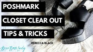 Posh Closet Poshmark Cco Closet Clear Out Tips To Make More Sales Youtube