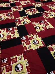 Florida State University Quilt by RosehillQuilting on Etsy ... & Florida State University Quilt by RosehillQuilting on Etsy More Adamdwight.com