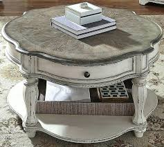 shabby chic round side table hi low coffee lovely marvelous marble che