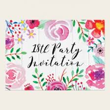 18th Birthday Invitations Invites From Dotty About Paper