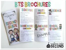 Teacher Brochure Example Information Brochure Template Middle School Brochure Templates For