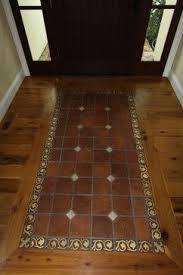 wood and tile floor designs. Fine Wood Wood Floor Inlay Design  Wood Floor With Tile Inlay Design Ideas  Pictures Remodel And Decor Intended And Designs A