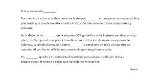 Formato Referencia Personal Modelo De Referencia Personal Para Banco Modelo Curriculum
