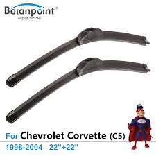 popular top wiper blades buy cheap top wiper blades lots from wiper blades for chevrolet corvette c5 1998 2004 22 22