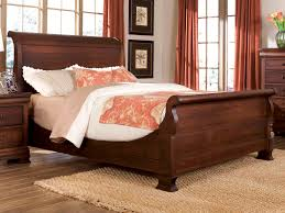 king size sleigh bed. Exellent King Durham Furniture Vineyard Creek King Master Sleigh Bed In Antique Rye  112149 For Size A